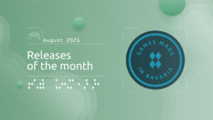 """Read more about """"#GamesInBavaria Releases of the Month August 2021"""""""